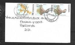 Namibia, Cover, Air Mail,N$ 2.50 > S.Africa, SWAKOPMUND NAMIBIA 2001.05.09 - Namibia (1990- ...)