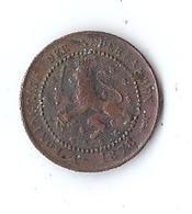 Monnaie Pays Bas 1 Cent 1878 KONINGRIJK DER NEDERLANDEN - [ 3] 1815-… : Kingdom Of The Netherlands