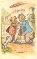 GERMAINE BOURET  EDTION MD N°610 CHUT SURTOUT PAS UN MOT A PERSONNE - Bouret, Germaine