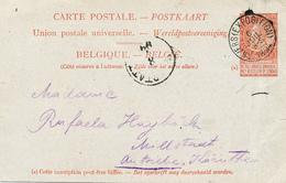 327/27 - Entier Postal Fine Barbe ANVERS EXPOSITION 1894 ( TB Frappe) Vers L' Autriche - Entiers Postaux