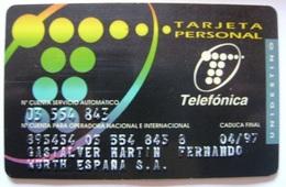 TARJETA PERSONALIZADA - BMP 009 - USADA - VER FOTO REVERSO - A760 - Spanien