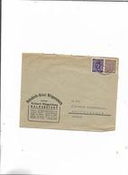 Brief Von Müggenburg Nach Halberstadt 1946 - Sowjetische Zone (SBZ)