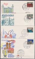 BRD FDC 1964 Nr.416 - 427 Hauptstädte Der Länder Der BRD 12 FDC ( K 28 ) Günstige Versandkosten - BRD