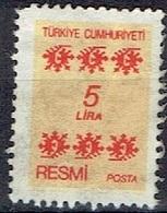 TURKEY  #  FROM 1981 STAMPWORLD * - 1921-... République