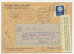S Hertogenbosch - Oss - Bergen 1970 - Straatnaam Onbekend - Period 1891-1948 (Wilhelmina)