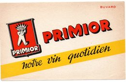 Buvard Vin Primior, Notre Vin Quotidien. - Buvards, Protège-cahiers Illustrés