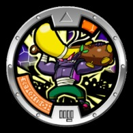 Yo-Kai Watch Series 1 - BRUFF Medal - Other Collections
