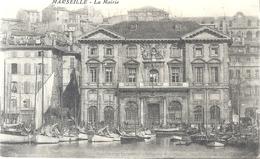 MARSEILLE . LA MAIRIE . CARTE MOLLE . ECRITE AU VERSO LE 23-1-1916 - Monuments