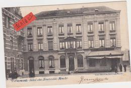 Tienen, Thienen, Tirlemont, Hôtel Du Nouveau Monde, Vanuit Zeer Speciale Hoek, ZELDZAME KAART!!!! - Tienen