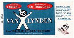 Buvard Pains D'épices Van Lynden. - Gingerbread