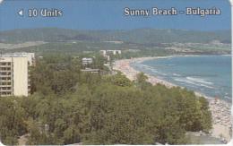 BULGARIA(GPT) - Sunny Beach, Betkom Telecard First Issue 10 Units, CN : 1BULA, Tirage 14720, 06/90, Used - Bulgaria