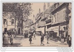58) Cosne Sur Loire Nièvre) Rue Du Commerce  - (belle Animation) - Cosne Cours Sur Loire