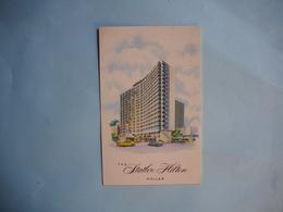 DALLAS  -  THE STATLER HILTON  -   Texas  -  Etats Unis - Dallas