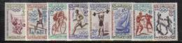 MB213 - MAROCCO , OLIMPIADI ROMA 1960 : N. 413/420  *** - Marocco (1956-...)