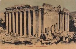 Lebanon Baalbek Temple Of Bacchus - Lebanon