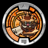 Yo-Kai Watch Series 1 - CASTELIUS III Medal - Other Collections
