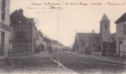78. LE PERRAY EN YVELINES.  CPA . RARETE.  GRANDE RUE. ANNEE 1903 - Le Perray En Yvelines