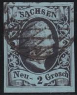 Sachsen      .     Michel    .     5      .       O     .     Gebraucht - Saxe