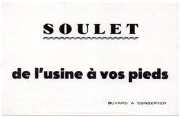 Buvard Soulet, De L'usine à Vos Pieds. Chaussures. - Shoes