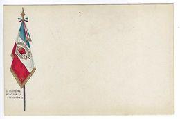 CPA Il Veut être Peint Sur Les étendards Coeur Sacré De Jésus Patriotique Religieux Guerre Drapeau 1914 1918 - Guerre 1914-18
