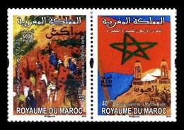 Morocco 2015 Mih. 1881A/82A Green March MNH ** - Marruecos (1956-...)