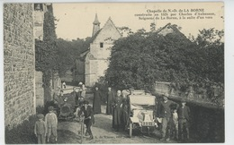 Chapelle De NOTRE DAME DE LA BORNE (belle Animation Avec Automobiles ) - Autres Communes