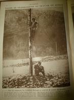 1917 LE MIROIR:Les Soldats Téléphonistes Portent La Peau De Mouton Contre Froid;Révolution Russe; Laon;Les Italiens,etc - Français