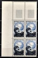 FRANCE 1951 - BLOC DE 4 TP / Y.T. N° 907 - NEUFS** COIN DE FEUILLE - France