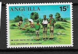 ANGUILLA    1970 Scouting MNH** - Anguilla (1968-...)