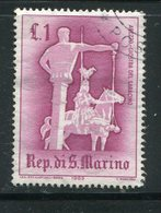 SAINT MARIN- Y&T N°587- Oblitéré - Saint-Marin