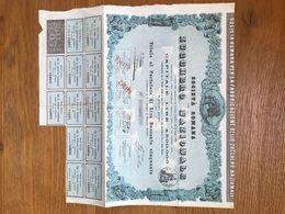 SOCIETA' ITALIANA PER LO ZUCCHERO NAZIONALE- AZIONE 1867 - Altre Collezioni