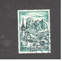 Europe - Saint-Marin - 1962 - Mountaineering -  Langkofel, St. Jacob Church Near St. Ulrich - Saint-Marin