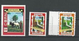 Rép. Centrafricaine: 130 ND + 131 + PA 86 ** - Centrafricaine (République)