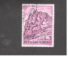 Europe - Saint-Marin - 1962 - Mountaineering -  Bergen - Saint-Marin