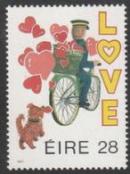 Chien - Irlande - N° 617 - Messages D'amour : Chien Avec Facteur - Neuf - Perros