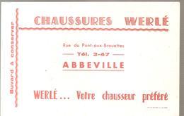 Buvard CHAUSSURES WERLE Rue Du Pont Aux Brouettes ABBEVILLE - Shoes