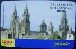 LOTE 2 TARJETA PREPAGO - USADAS - VER DESCRIPCION - 2 FOTOS - A769 - Espagne