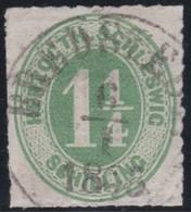 Schleswig - Holstein     .     Michel    .    4     .       O     .     Gebraucht - Schleswig-Holstein