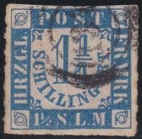 Schleswig - Holstein     .     Michel    .   7   .       O     .     Gebraucht - Schleswig-Holstein