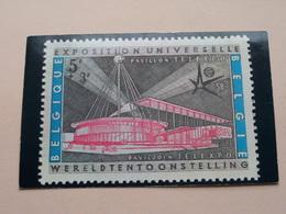 Paviljoen Van TELEXPO  - Reproduktie Van De Postzegel / Egicarte 5-9-58 Bruxelles / Brussel ( Zie Foto's ) PK / CP ! - 1958 – Brüssel (Belgien)