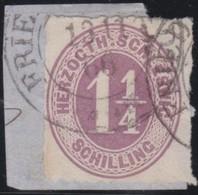 Schleswig - Holstein     .     Michel    .   14     .       O     .     Gebraucht - Schleswig-Holstein