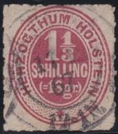 Schleswig - Holstein     .     Michel    .   15    .       O     .     Gebraucht - Schleswig-Holstein