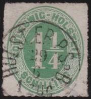 Schleswig - Holstein     .     Michel    .  9    .       O     .     Gebraucht - Schleswig-Holstein