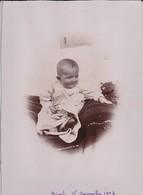 PHOTO---TUNISIE---BIZERTE 16 Novembre 1903----bébé--voir 2 Scans - Africa