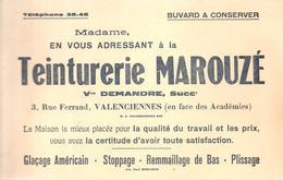 Buvard Teinturie MAROUZE Vve DEMANDRE 3, Rue Ferrand Valenciennes - Textile & Clothing