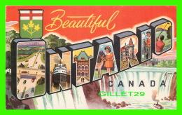ONTARIO - BEAUTIFUL ONTARIO -  S. D. C. - - Ontario