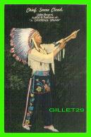 """INDIANS - CHIEF SNOW CLOUD, JOHN ROGERS - AUTHOR OF """" A CHPPEWA SPEAKS """" - Indiens De L'Amerique Du Nord"""