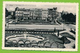 LIEGE - Terrasses D'Avroy Et Rue Lebeau - Carte Circulé 1953 - Liege