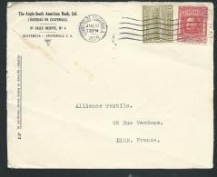 Lettre Du Guatemala Affranchie Pour La France En 1929   - Bb15802 - Guatemala