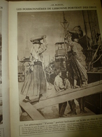 1917 LE MIROIR:Les Poissonnières à Lisbonne Portent Les Obus;Les Matelottes Russes;Belges à Merckem;Chemin Des Dames;etc - Riviste & Giornali